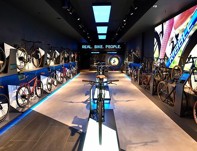 Customers can view and try out more than 25 bikes from the Ribble range.