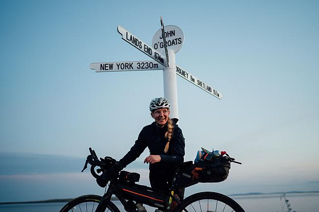 The 2000km route winds from Lands End to John O Groats. Photos: Maciek Tomiczek