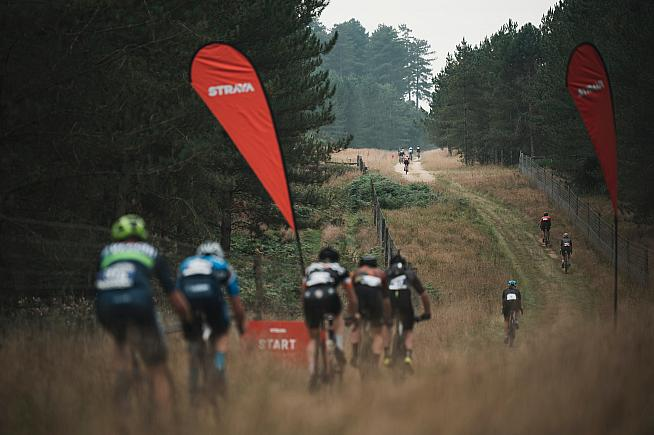 The Strava Sprint segment was the launch pad for winning breaks in the men's and women's races.