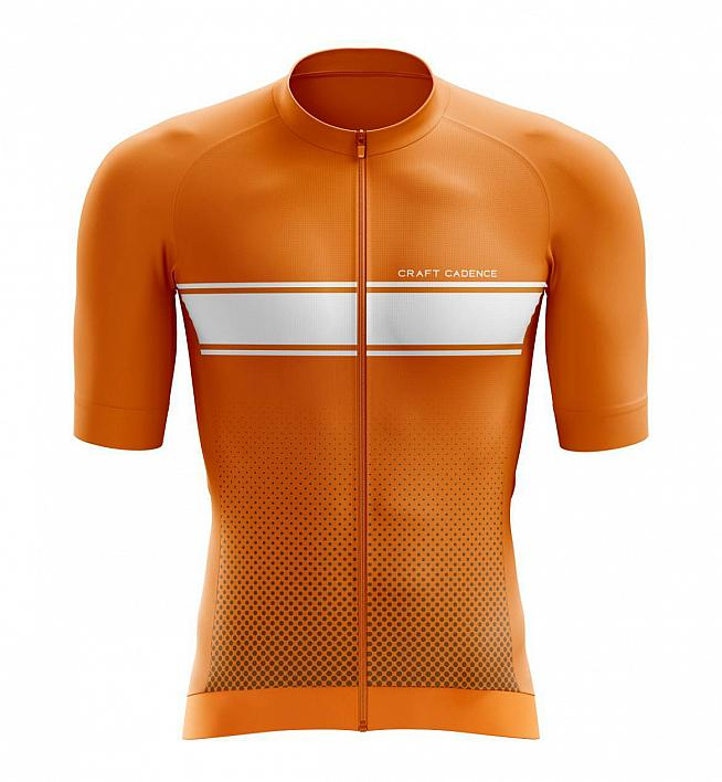 The Recycled Performance Jersey from Craft Cadence uses 100% GRS certified fabric.